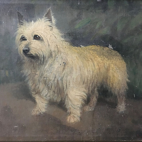 NOW SOLD - West Highland Terrier oil painting