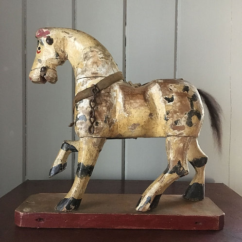 NOW SOLD - Antique wooden toy horse