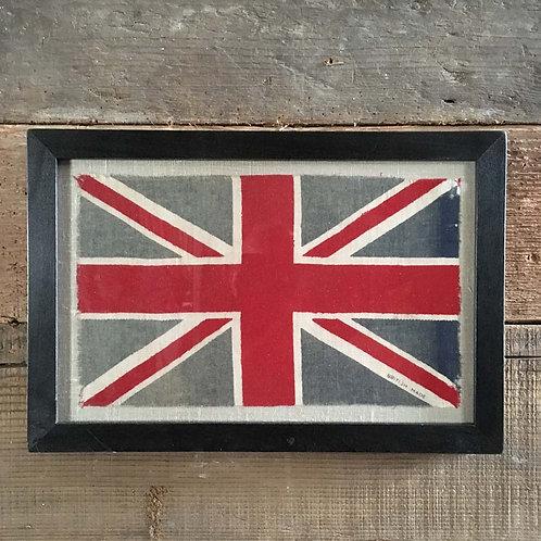 NOW SOLD - Vintage framed Union Flag - No. 27