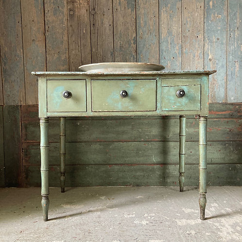 NOW SOLD - 19th C painted pine side table