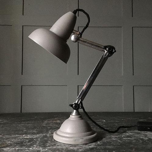 NOW SOLD - Vintage chrome desk lamp