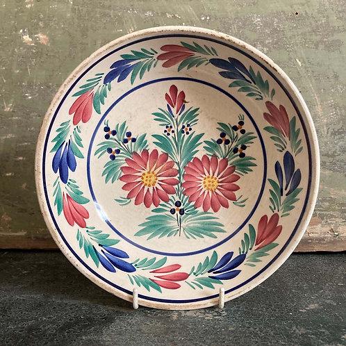 SOLD - Antique hand-painted bowl - Quimper