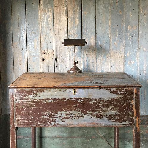 19th Century Painted Pine Estate Desk