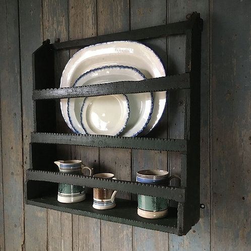 NOW SOLD - Antique primitive wall rack
