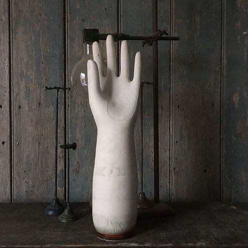 NOW SOLD - Large vintage ceramic glove mould