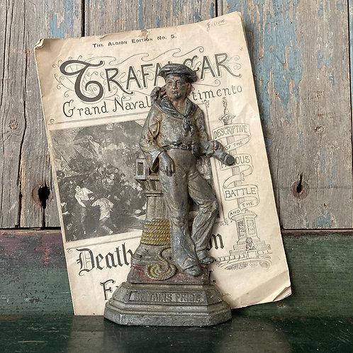 NOW SOLD - Antique sailor ornament