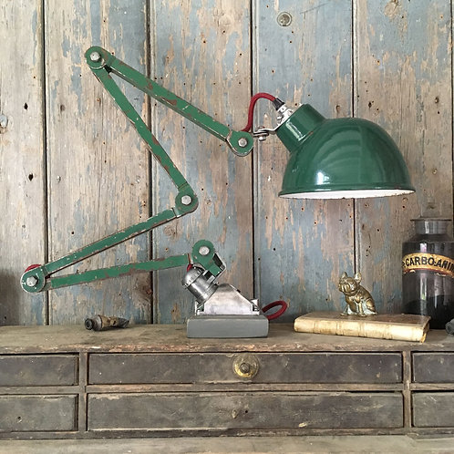 NOW SOLD - Vintage industrial worklamp