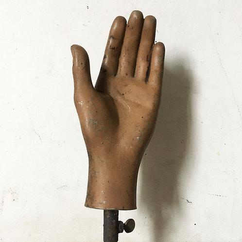NOW SOLD - Vintage mannequin hand