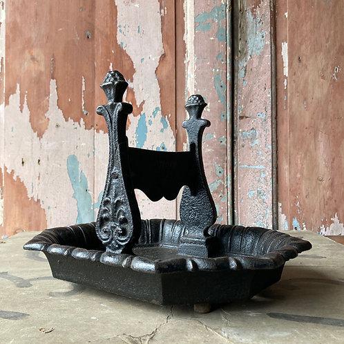 SOLD - Victorian cast iron boot scraper