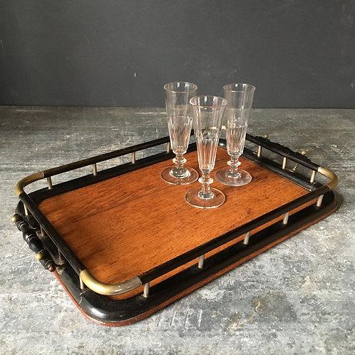 NOW SOLD - Edwardian oak tea tray