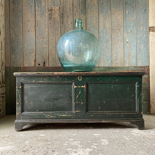 NOW SOLD - Antique Welsh blanket box chest