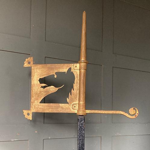 Antique weathervane - Heraldic Horse