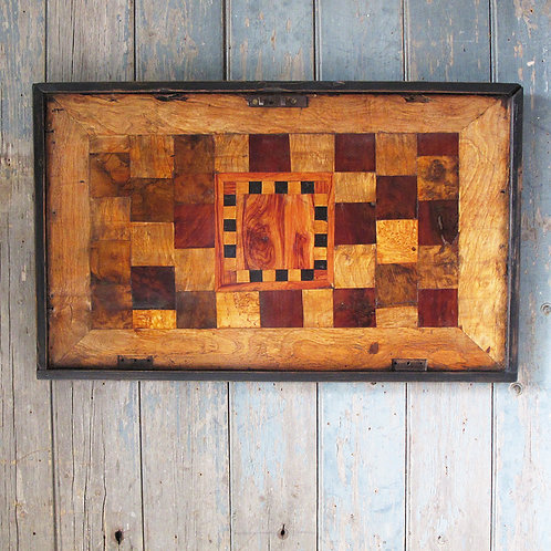 NOW SOLD - Antique wood veneers sampler
