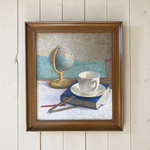 Mid Century still life oil painting - Mary Duncan (1885–1964)