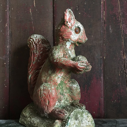 NOW SOLD - Vintage squirrel garden ornament