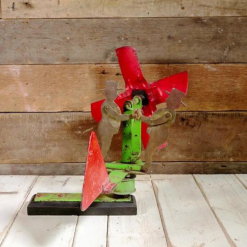 NOW SOLD - Vintage folk art whirligig / weathervane