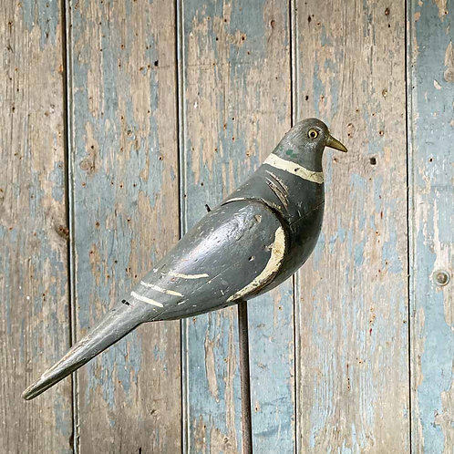 SOLD - Vintage Pigeon Decoy