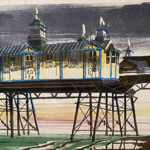 SOLD - 20th century lithograph - 'Eastbourne'
