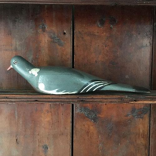 NOW SOLD - Vintage wood pigeon decoy