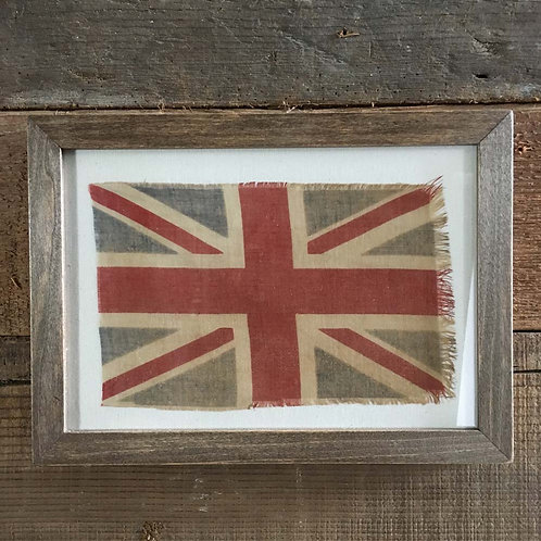 NOW SOLD - Vintage framed Union Flag - No.28