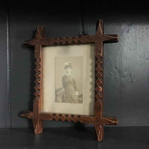 NOW SOLD - Victorian Gothic photograph frame