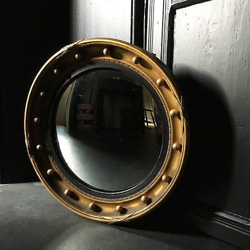 NOW SOLD - Regency-style convex mirror
