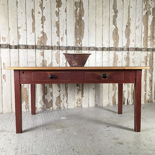 NOW SOLD - Victorian painted pine table