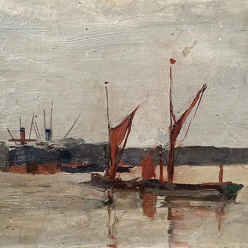 Oil painting by Arthur Douglas Peppercorn