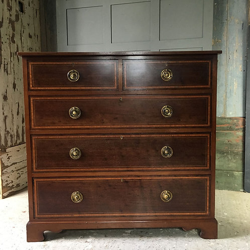 NOW SOLD - Mahogany drawers by Waring & Gillow