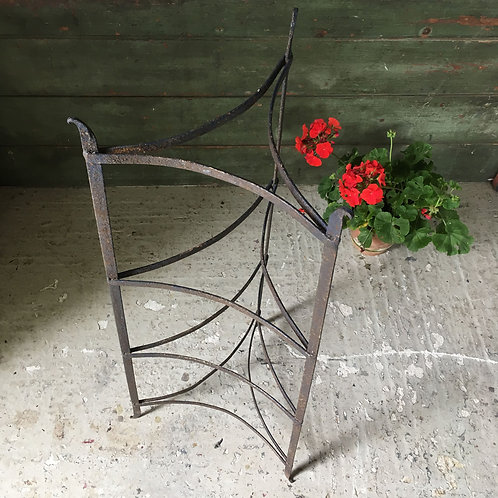 NOW SOLD - Vintage iron pot stand