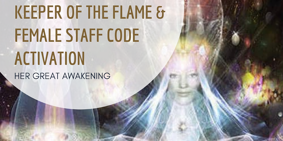 Keeper of the Flame & Female Staff Code Activation