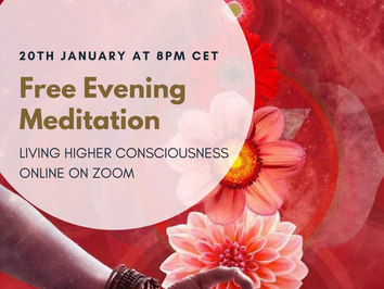 Return to Divine Presence - Free Evening Meditation ~ 20th January at 8pm CET