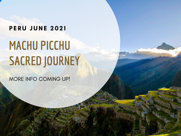 Summer Solstice Sacred Journey to Peru ~ with Camilla Ma Ra