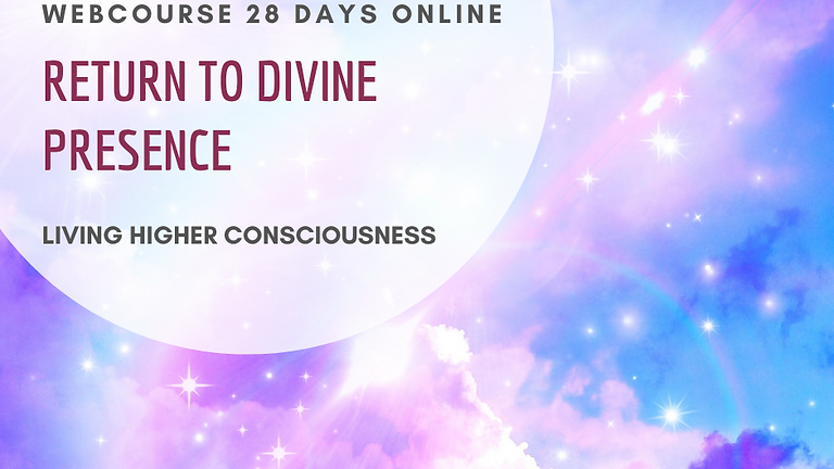 Return to Divine Presence 28 days online - webcourse - Priestess Summit offer