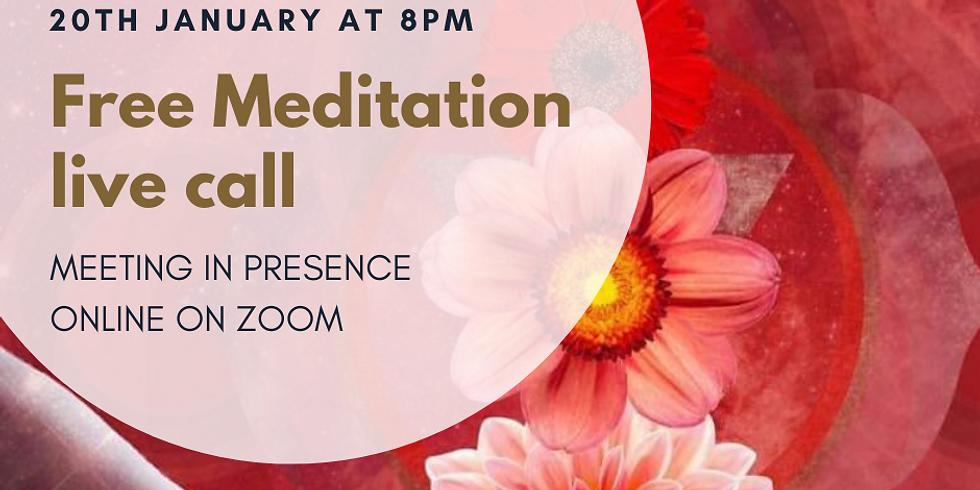 Return to Divine Presence Evening Meditation - 20th January