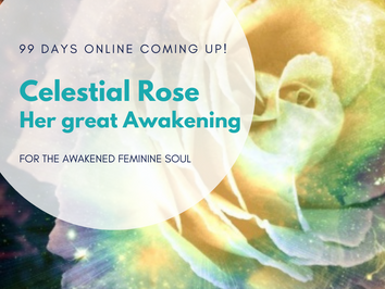 Celestial Rose - Her Great Awakening - 99 days online Journey