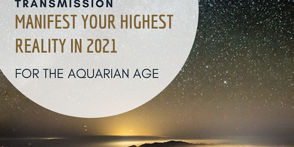 Manifest Your Highest Reality for the Aquarian Age - New Vision 2021! - Priestess Summit Offer