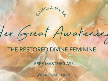 FREE Masterclass - The Restored Divine Feminine