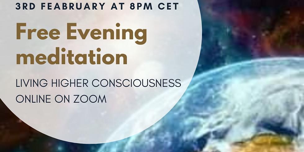 Return to Divine Presence Evening Meditation - 3rd February