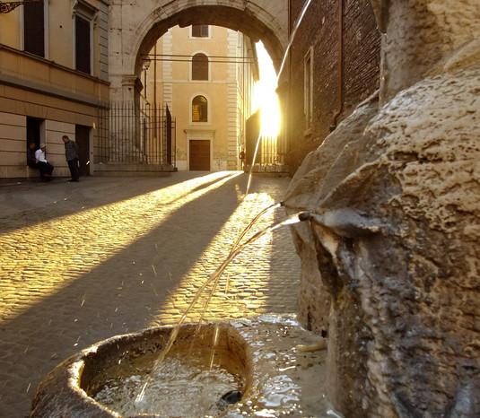 Abendlicher Spaziergang durch Rom