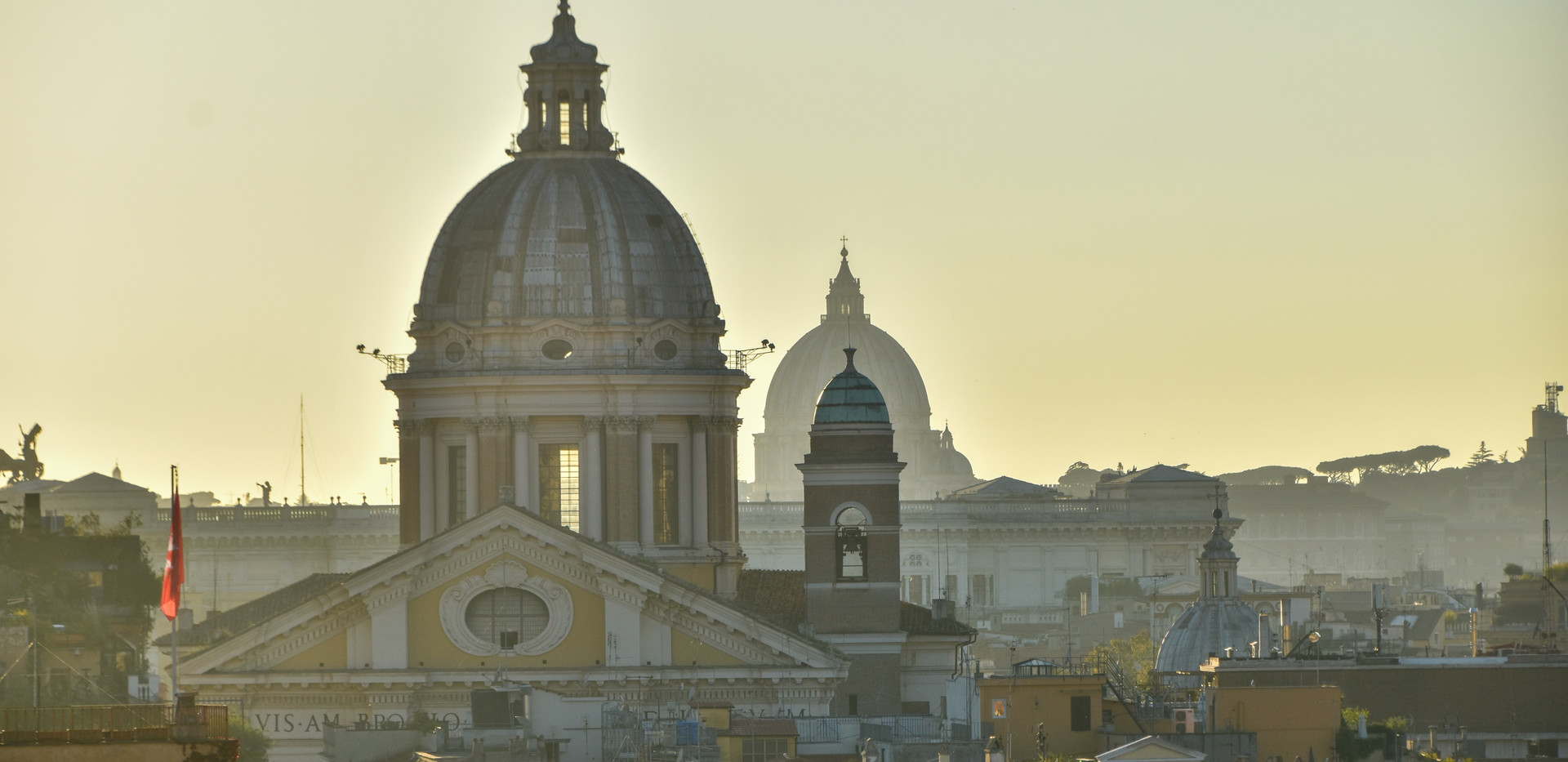 Abendlicher Rundgang in Rom
