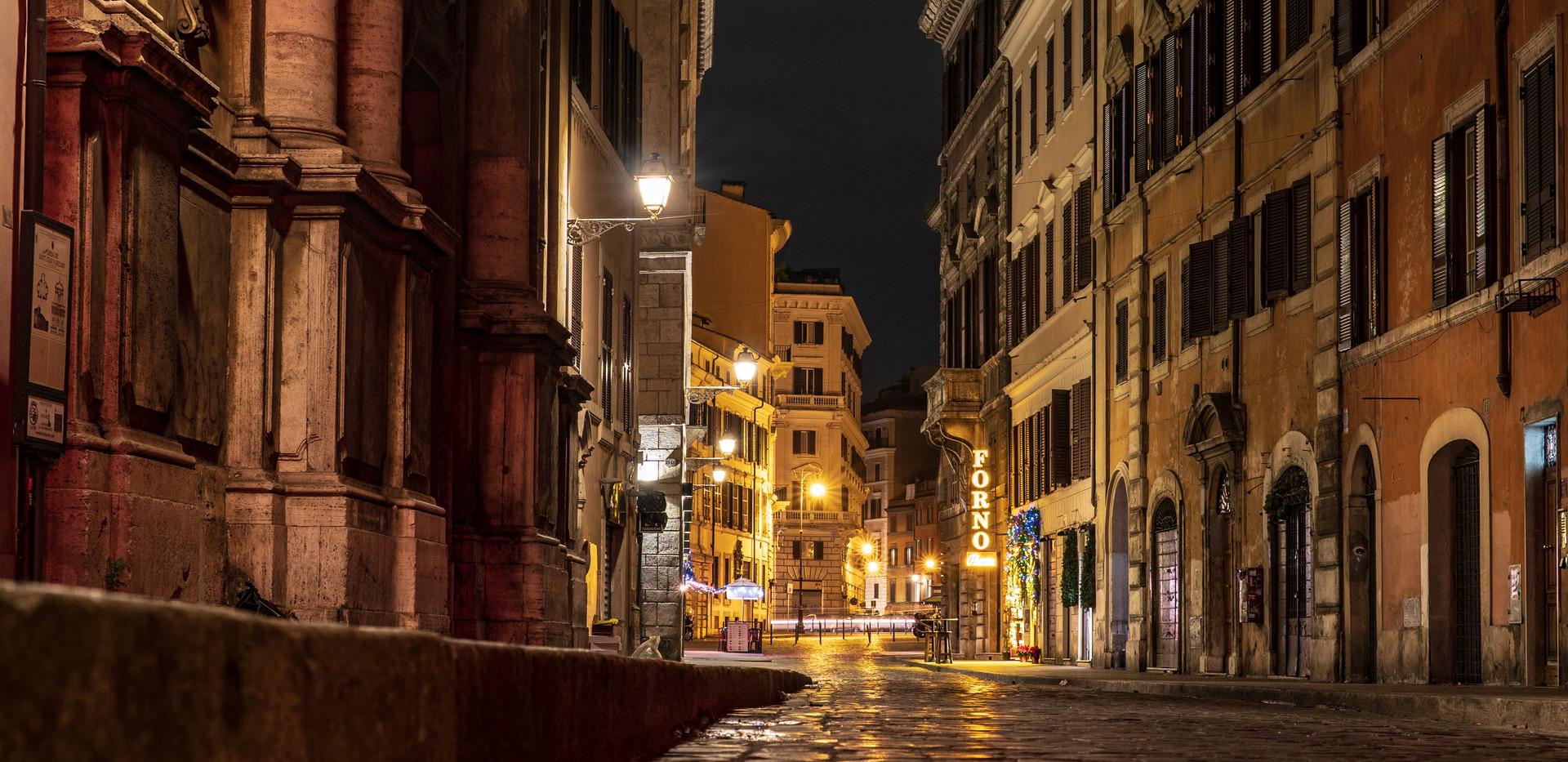 Abendstimmung in Rom