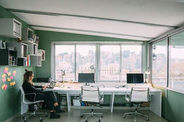 Das Roma-Mia Büro in Rom