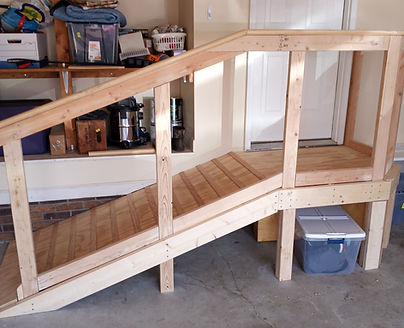 custom wood ramp