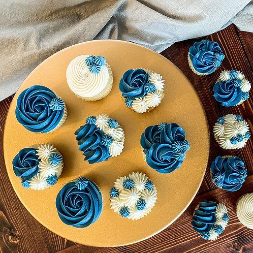 Tri-Color Cupcakes