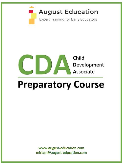 CDA Prep Course for Center Child Care Providers