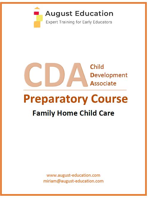 CDA Prep Course for Family Child Care Providers