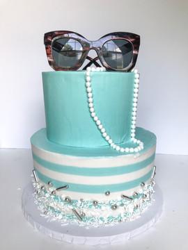 Breakfast at Tiffany's Cake