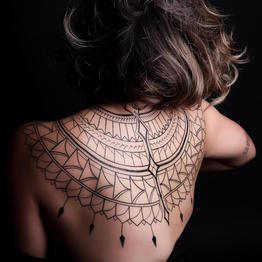 BlackWork Tattoo Gallery