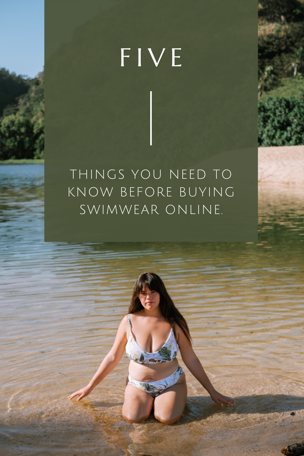 5 Things You Need to Know Before Buying Swimwear Online.